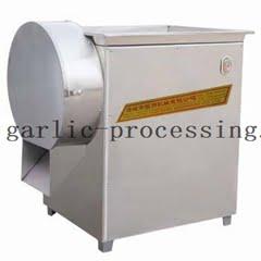 Garlic slicer machine